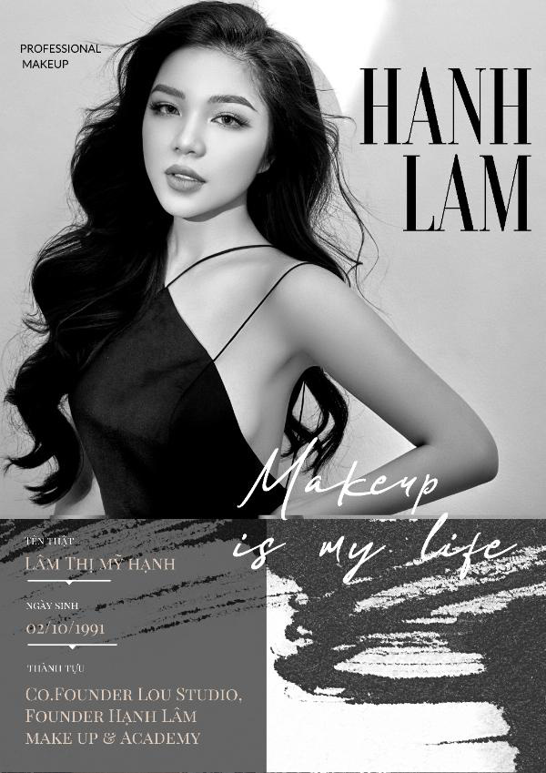 M.U.A Hạnh Lâm – người tiên phong đưa Make up Art về Việt Nam